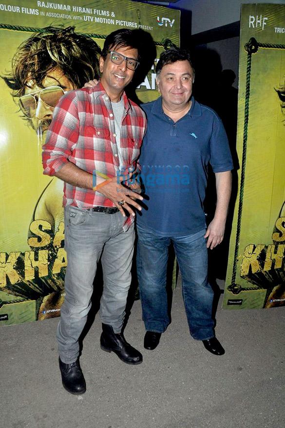Jaaved Jaaferi, Rishi Kapoor