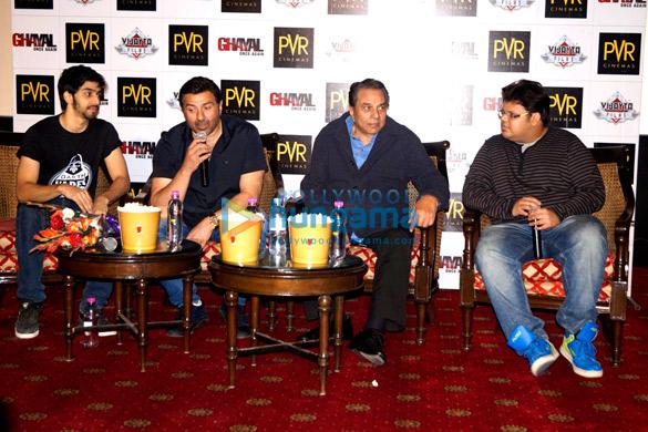 Shivam Patil, Sunny Deol, Dharmendra, Rishabh Arora