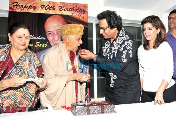 Mrs. Jagjit Kaur, Khayyam Saab, Talat Aziz, Bina Aziz