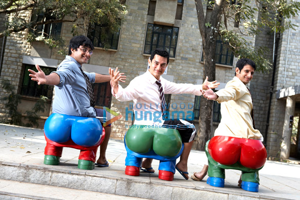 R Madhavan, Aamir Khan, Sharman Joshi