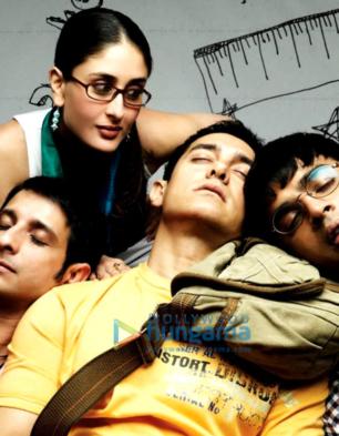 Sharman Joshi, Kareena Kapoor Khan, Aamir Khan, R Madhavan