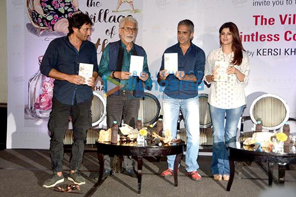 Homi Adajania, Naseeruddin Shah, Kersi Khambatta, Twinkle Khanna
