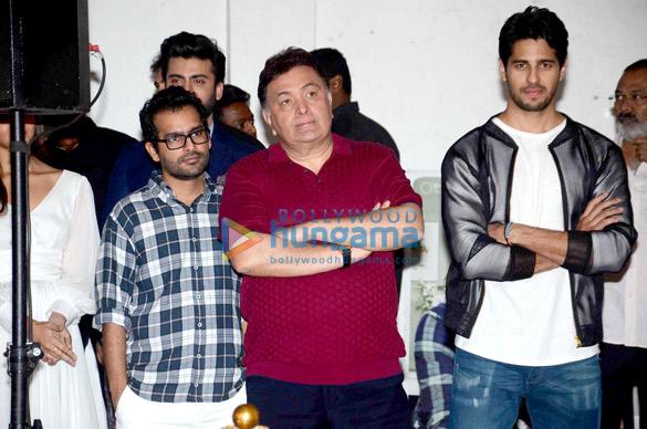 Fawad Khan, Shakun Batra, Rishi Kapoor, Sidharth Malhotra