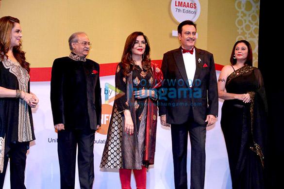 Zeenat Aman, Deepak Parashar