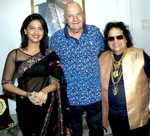 Tejashri Pradhan, Prem Chopra, Bappi Lahiri