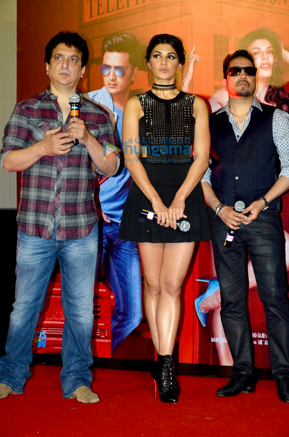Sajid Nadiadwala, Jacqueline Fernandez, Mika Singh
