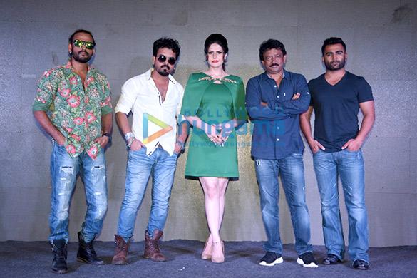 Sharib Sabri, Toshi Sabri, Zarine Khan, Ram Gopal Varma,  Sachiin Joshi