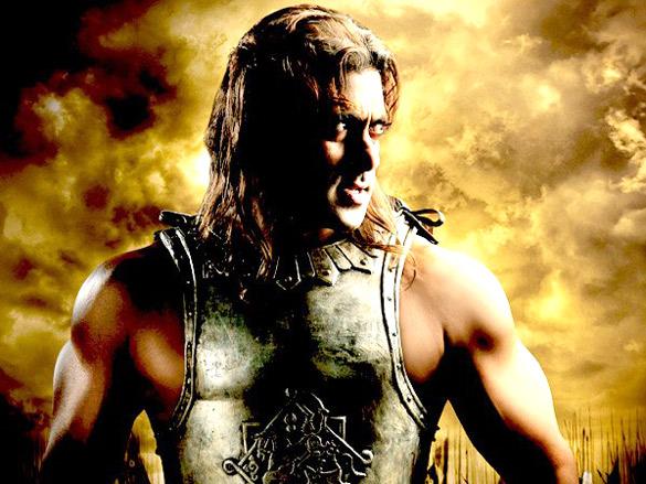 Movie Still From The Film Veer,Salman Khan