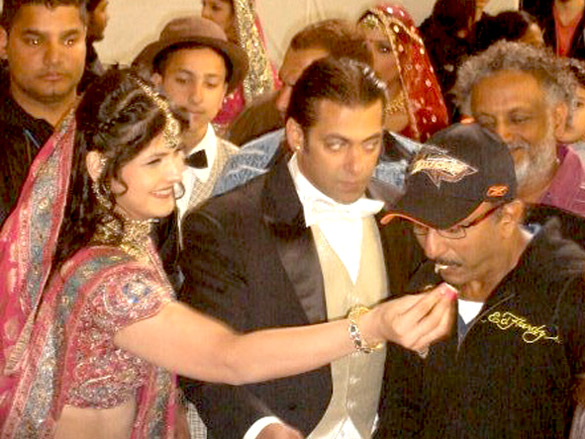 On The Sets Of The Veer (2009) Featuring Zarine Khan,Salman Khan