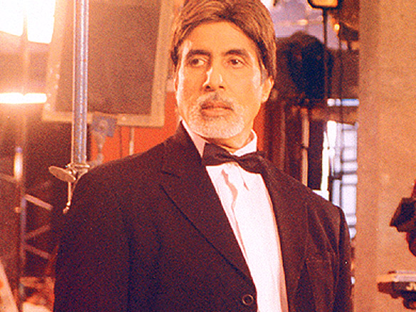 On The Sets Of The Film Baghban Featuring Amitabh Bachchan