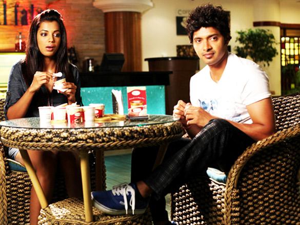 Movie Still From The Film Will You Marry Me?,Mugdha Godse,Shreyas Talpade