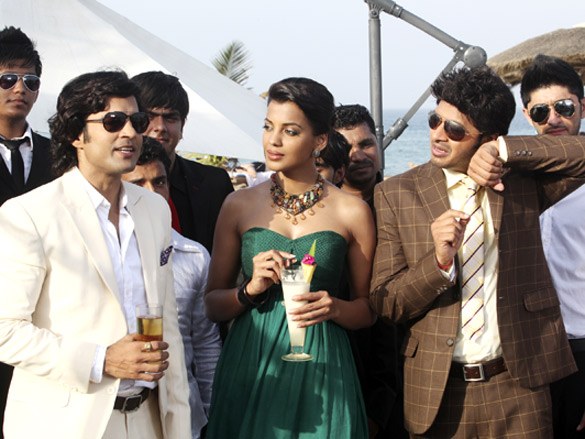 Movie Still From The Film Will You Marry Me?,Rajeev Khandelwal,Mugdha Godse,Shreyas Talpade
