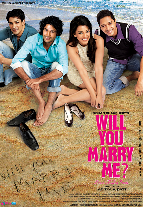 First Look Of The Movie Will You Marry Me?