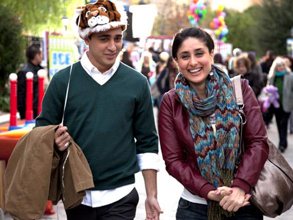 Movie Still From The Film  Ek Main Aur Ekk Tu,Imran Khan,Kareena Kapoor