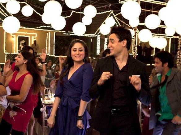 Movie Still From The Film  Ek Main Aur Ekk Tu,Kareena Kapoor,Imran Khan