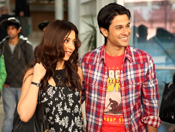 Movie Still From The Film Blood Money,Amrita Puri,Kunal Khemu