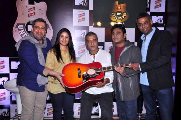 Sunidhi Chauhan, Lucky Ali, A R Rahman