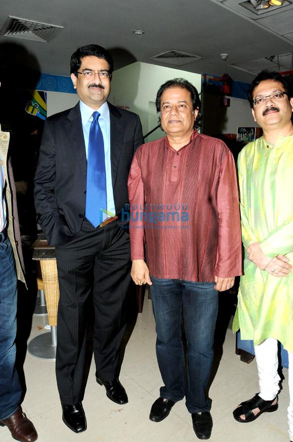Kumar Mangalam Birla, Anup Jalota, Vivek Prakash