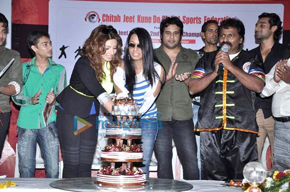 Shama Sikander, Kashmera Shah, Krishna Abhishek, Cheetah Yagnesh Shetty, Hanif Hillal