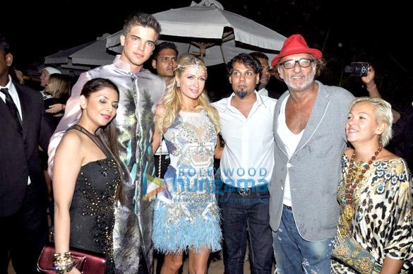 Falguni Peacock, Paris Hilton, Shane Peacock