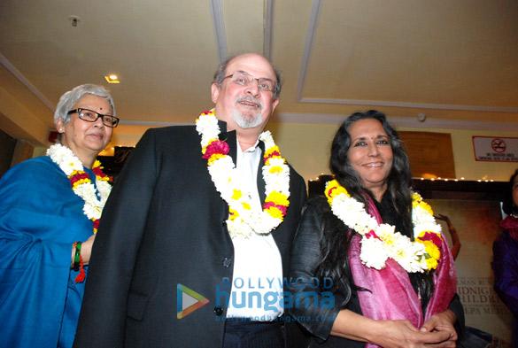 Reeta Devi, Salman Rushdie, Deepa Mehta