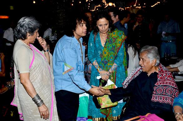 Dolly Thakore, Ustad Zakir Hussain, Shashi Kapoor