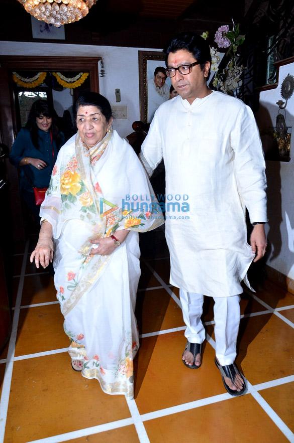 Lata Mangeshkar, Raj Thackeray