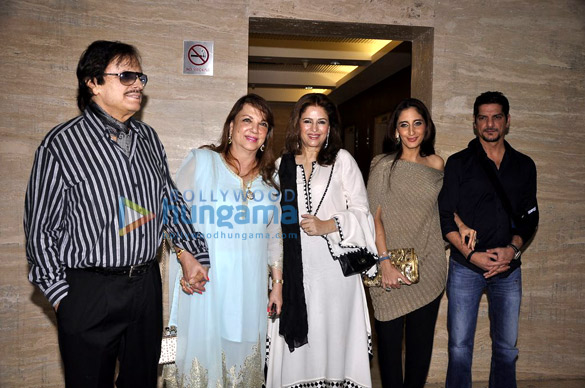 Sanjay Khan, Zarine Khan, Farah Khan Ali, DJ Aqeel