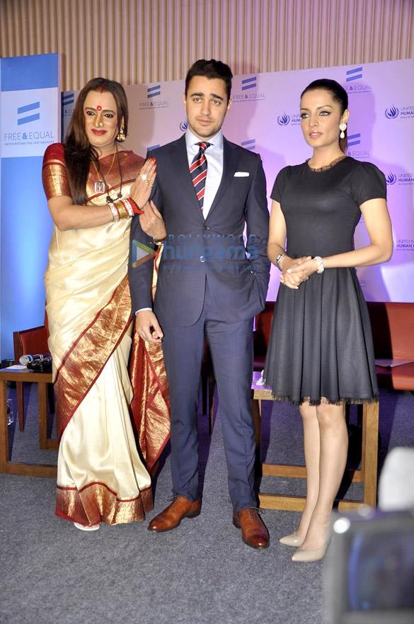 Laxmi Narayan Tripathi, Imran Khan, Celina Jaitly
