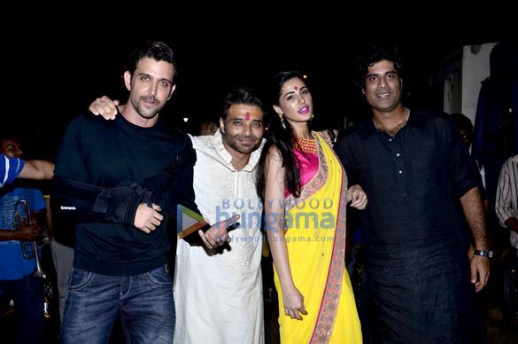 Hrithik Roshan, Uday Chopra, Nargis Fakhri, Sikandar Kher