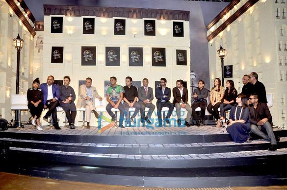 Gaurav Gupta, Suneet Varma, Boman Irani, Chetan Bhagat, Narresh, Shivan, Pankaj, Nidhi, Namrata Joshipura, Abraham, Thakore, Neeta Lulla, Rocky S