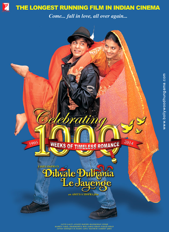 First Look Of The Movie Dilwale Dulhania Le Jayenge