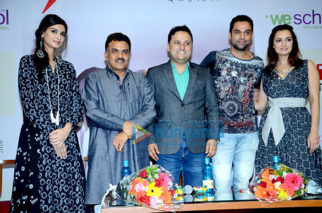 Abhay Deol, Diana Penty & Dia Mirza grace Wellingkar College event to promote 'Happy Bhag Jayegi'