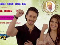 Tiger Shroff, Jacqueline Fernandez To Attend Sadbhawna Diwas In Delhi