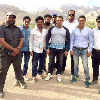 On The Sets Of The Film Tubelight