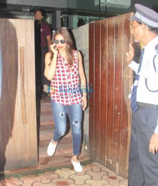 Bipasha Basu snapped post a meeting at Indigo