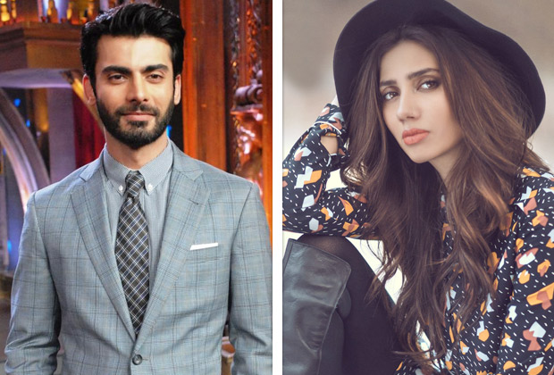 Fawad Khan & Mahira Khan