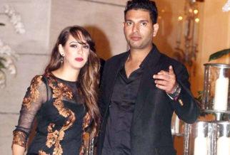 Hazel Keech and Yuvraj Singh