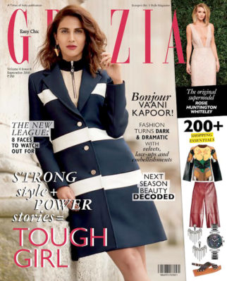 On the covers of Vaani Kapoor
