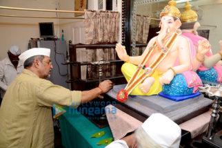 Nana Patekar celebrates Ganesha Chatruthi