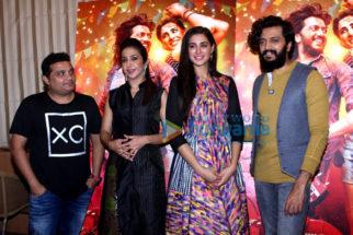 Riteish Deshmukh & Nargis Fakhri at 'Banjo' promotions