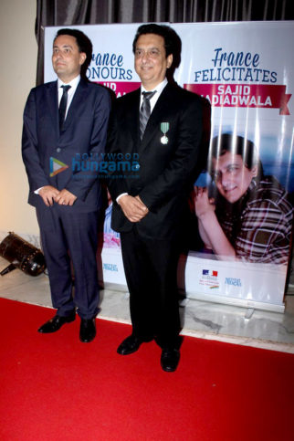 Sajid Nadiadwala conferred with the French Honour in Mumbai