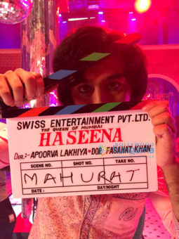 On The Sets Of The Movie Haseena - The Queen of Mumbai