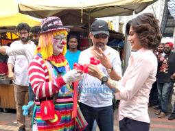 On The Sets Of The Movie Naam Shabana