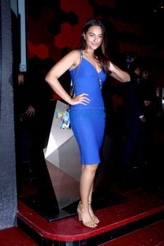Sonakshi Sinha at Bunty Sajdeh's birthday celebrations at Trilogy bash