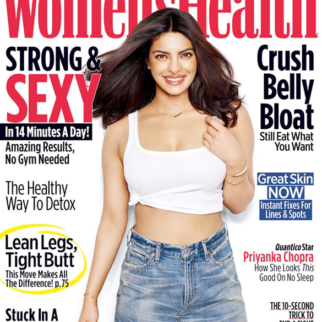 On the covers of Women's Health