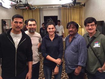 On the Sets: Akshay Kumar and Tapsee shoot for Naam Shabana