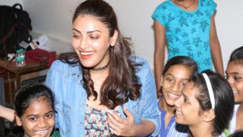 Anushka Ranjan Sponsors Children Education Diwali