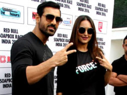 John Abraham, Sonakshi Sinha At Red Bull Soapbox Race 2016 Parties Video Image