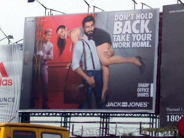 'Sexist' ad that drew ire on social media makes Ranveer Singh upset